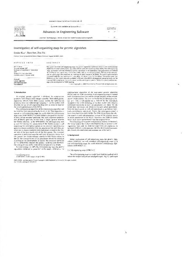 ' Adv•ncH 1 EncutfflnJ Sofrw•tt 4 1 (2010) 148- JB n  Contents 11111 available at ScieoceOirect  Advances in Engineering S...