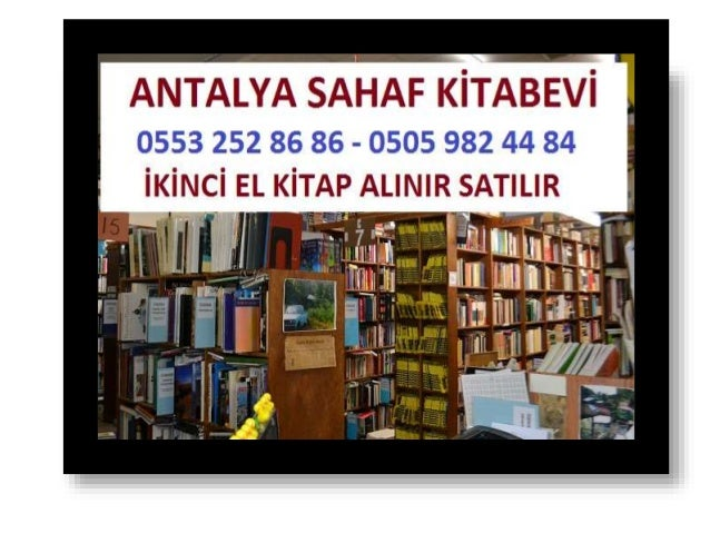 Antalya ikinci el kitap alanlar