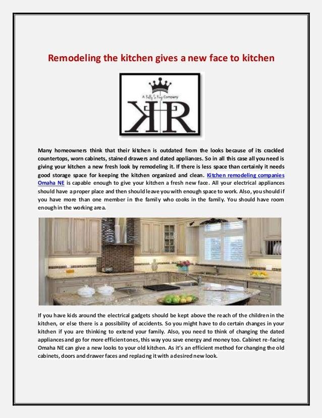 Kitchen Remodeling Companies Omaha Ne