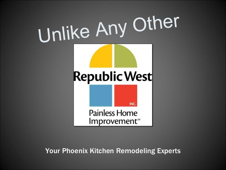 Unlike Any Other Your Phoenix Kitchen Remodeling Experts