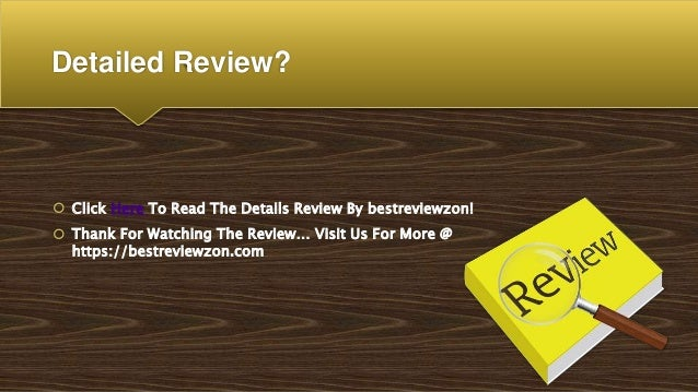 Detailed Review?  Click Here To Read The Details Review By bestreviewzon!  Thank For Watching The Review… Visit Us For M...