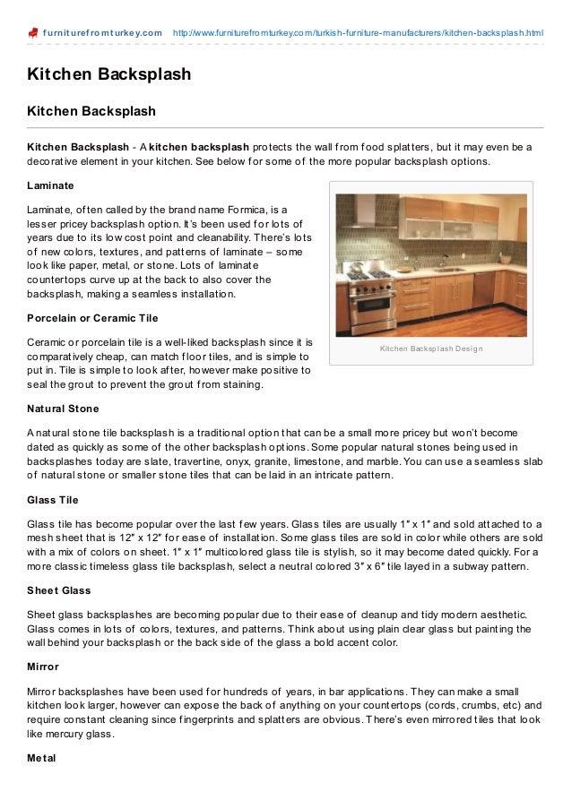 f urnit uref romt urkey.com http://www.furniturefromturkey.com/turkish-furniture-manufacturers/kitchen-backsplash.htmlKitc...