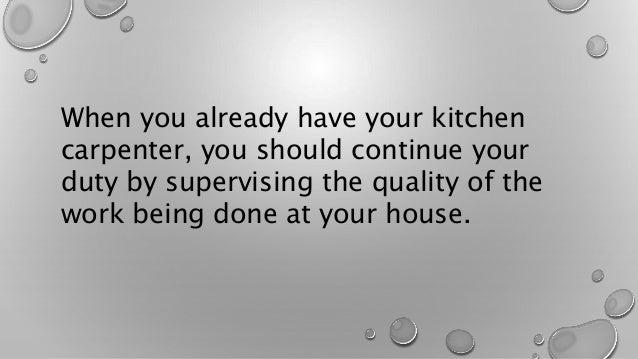 Kitchen Cabinet Carpenter Singapore