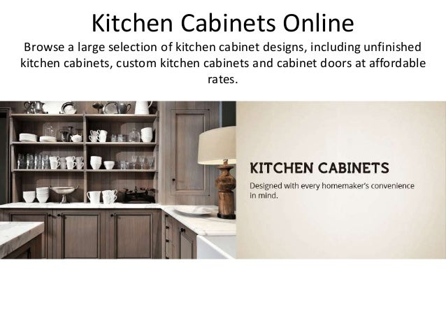 Kitchen Cabinets Online Browse A Large Selection Of Kitchen Cabinet  Designs, Including Unfinished Kitchen Cabinets ...