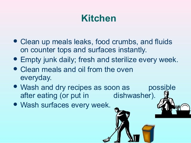 Kitchen  Clean ...