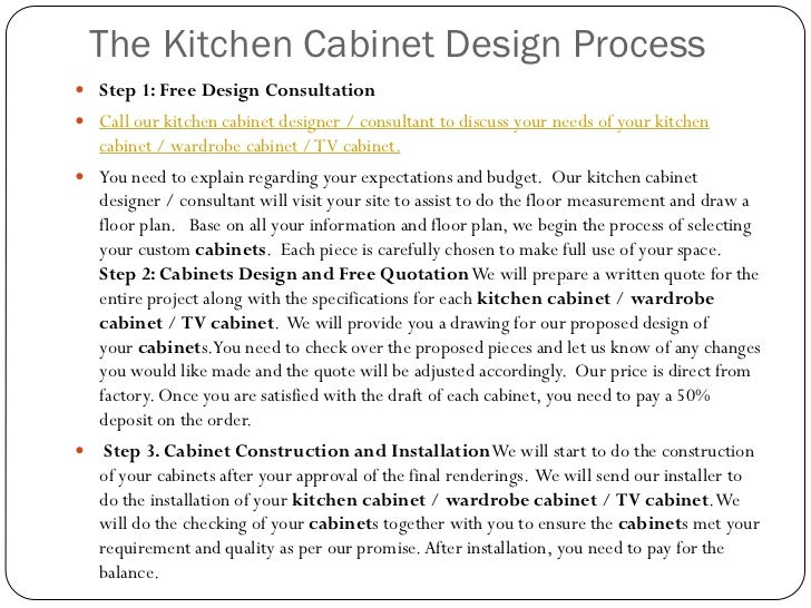 Incroyable Kitchen Tips; 55. The Kitchen Cabinet Design Process ...