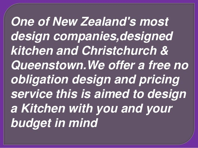Kitchen Design Queenstown kitchen design new zealand