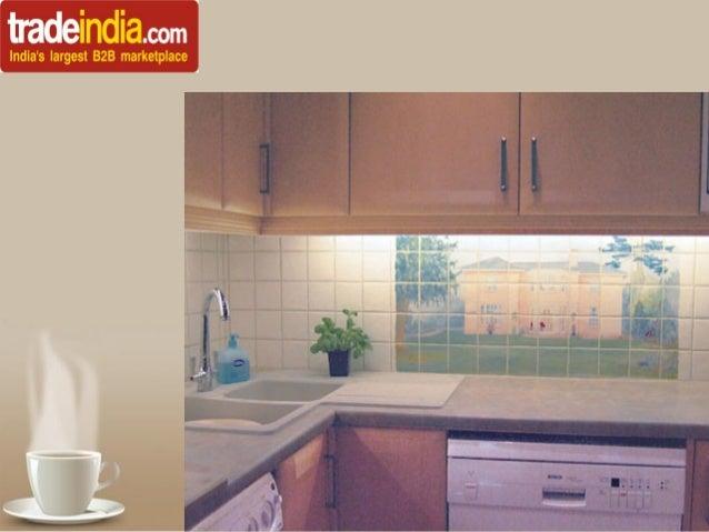 Different beautiful kitchen digital tiles powerpoint templates page 6 toneelgroepblik Choice Image