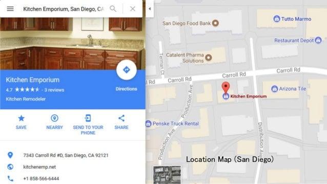 Location Map (San Diego) ...