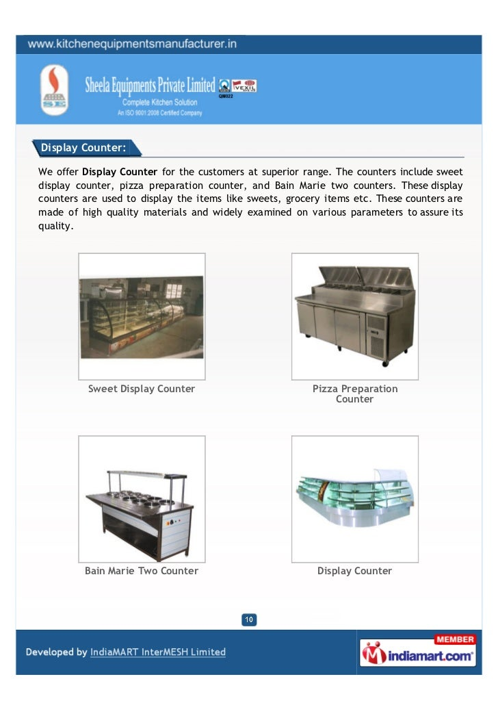 Display Counter:We offer Display Counter for the customers at superior range. The counters include sweetdisplay counter, p...