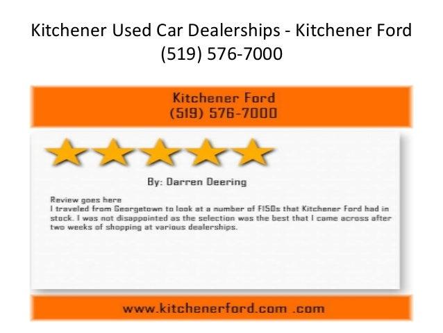 Kitchener Car Dealerships >> Kitchener Used Car Dealerships Kitchener Ford 519 576 7000