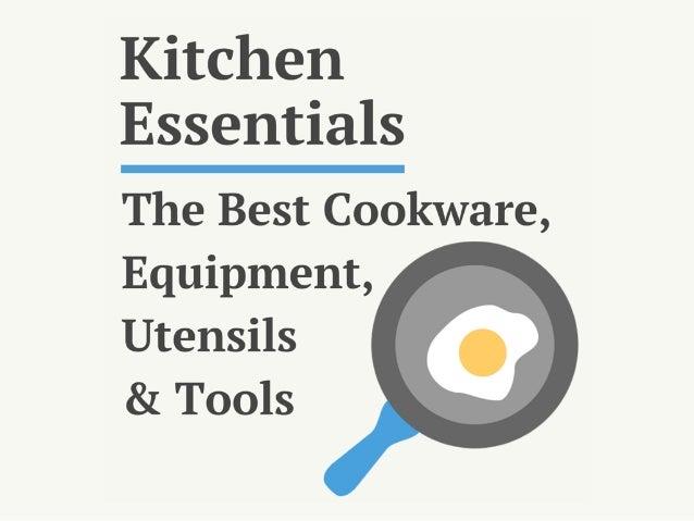 Kitchen Essentials List: 71 of the Best Kitchen Cookware ...