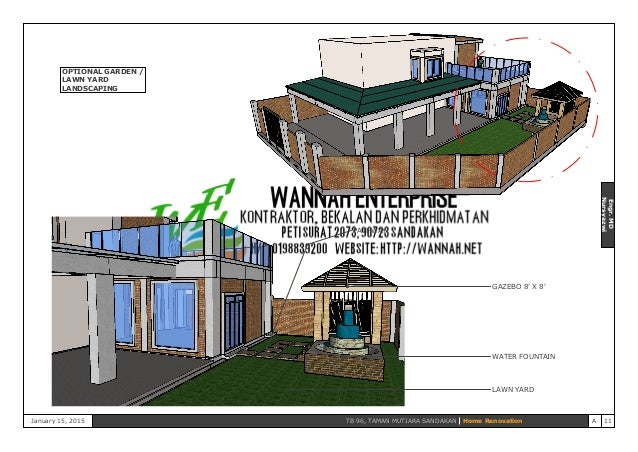 Proposals For Design And Build Kitchen Extension And Car