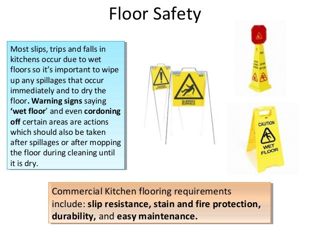 Commercial Kitchen First Aid Requirements