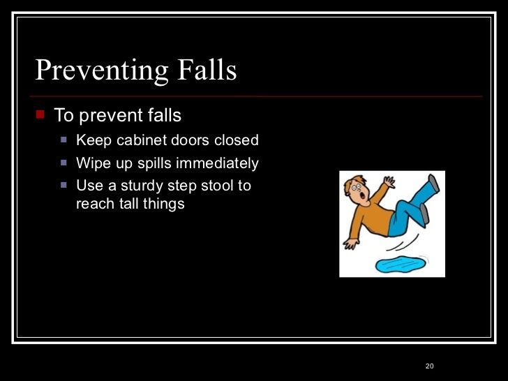exceptional How To Prevent Falls In The Kitchen #5: Kitchen \u0026amp; Food Safety