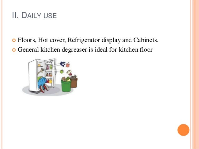 Kitchen Hygiene And Sanitation