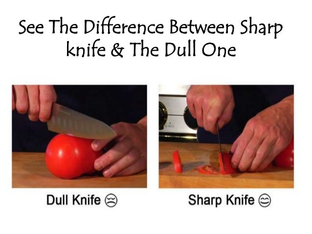 See The Difference Between Sharp Knife Dull One 3