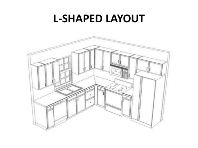 kitchen layouts module 9 management of food preparation service. Black Bedroom Furniture Sets. Home Design Ideas