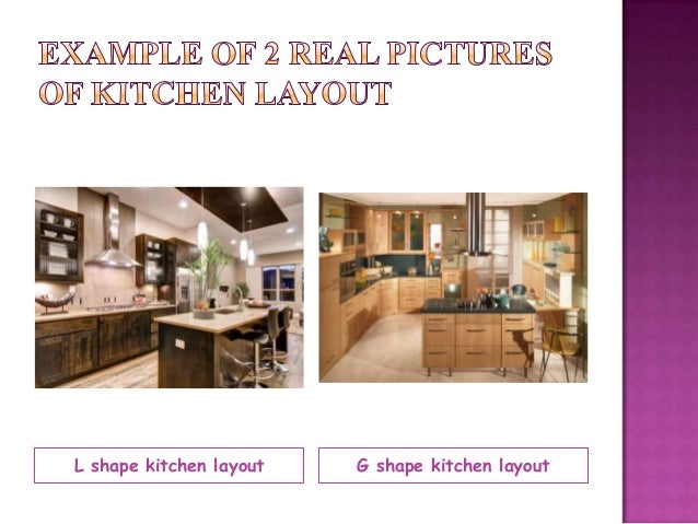 Tle kitchen layouts presentation for Suggested kitchen layouts