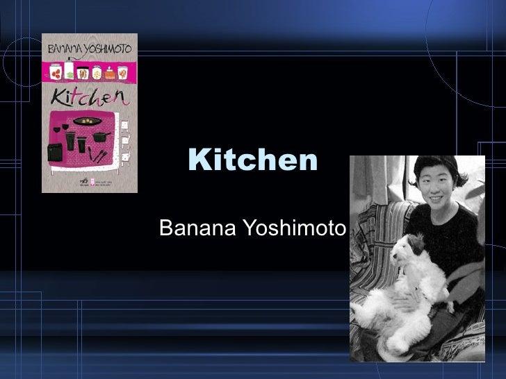 Kitchen Banana Yoshimoto