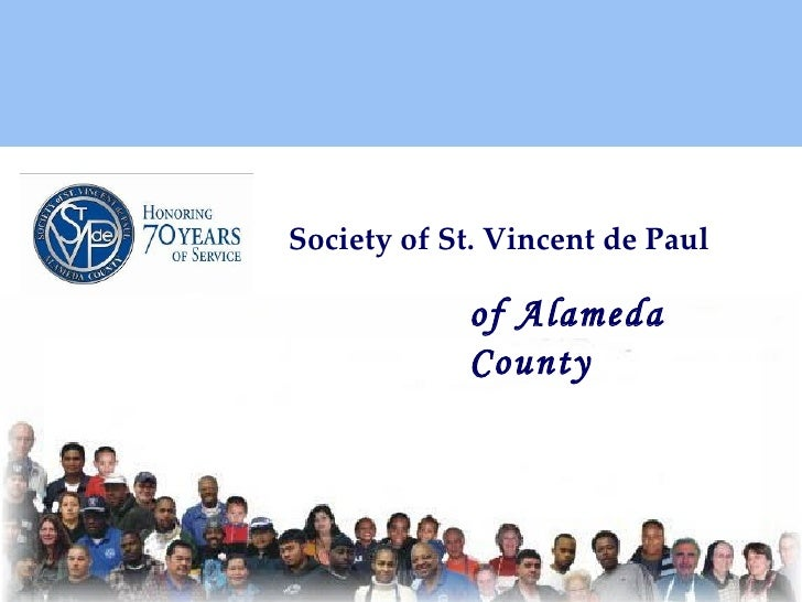 Society of St. Vincent de Paul of Alameda County