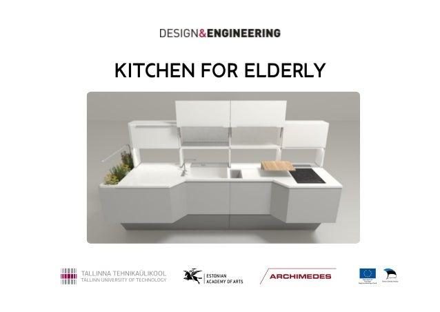 design engineering kitchen for elderly presentation
