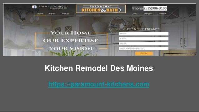 Kitchen Remodel Des Moines Https://paramount Kitchens.com ...