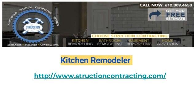Kitchen Remodeler http://www.structioncontracting.com/
