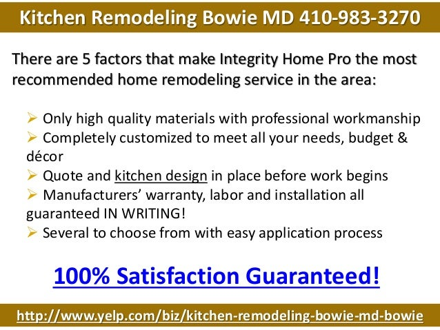 kitchen remodeling bowie md 410 983 3270