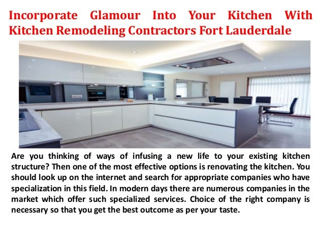 Incorporate Glamour Into Your Kitchen With Kitchen ...