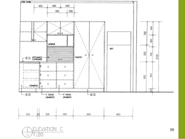 Dashed Lines On Kitchen Base Cabinet Floor Plan