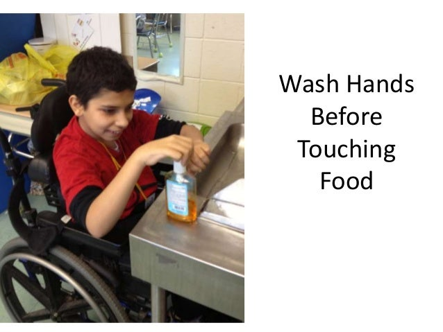 Wash Hands  Before Touching   Food