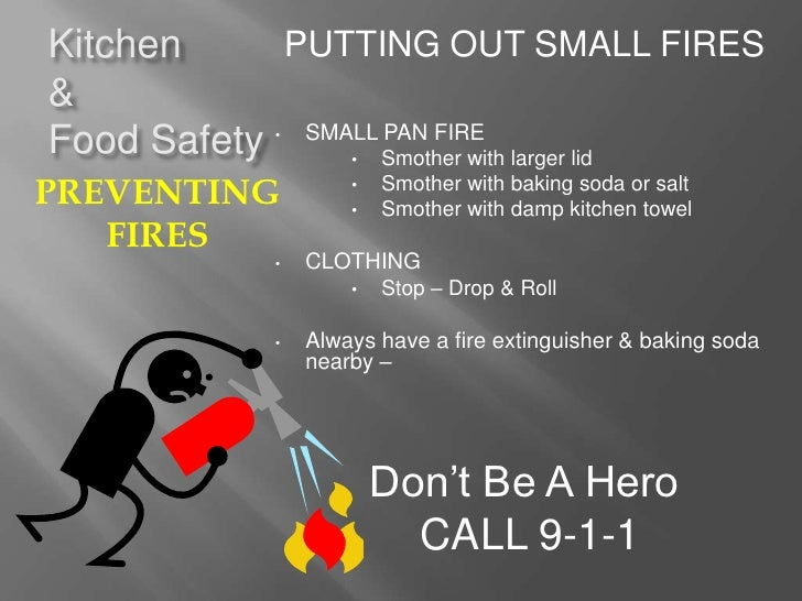 Kitchen Safety Stinson