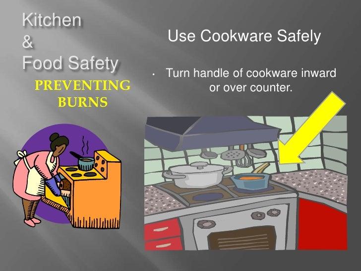 Kitchen safety stinson for 6 kitchen accidents
