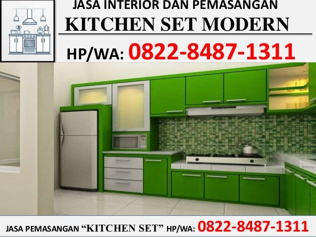 Hp Wa 0822 8487 1311 Tsel Tukang Kitchen Set Batam