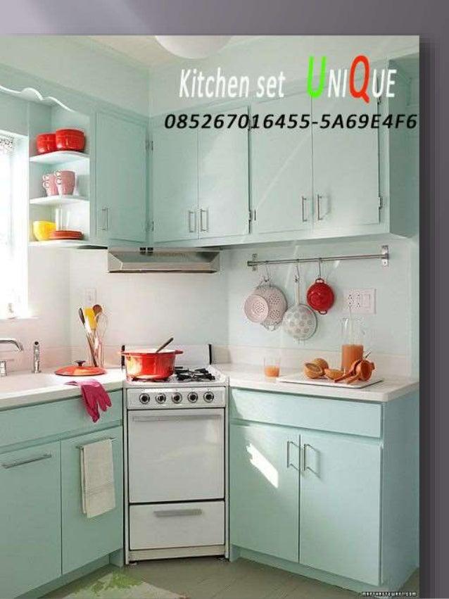 Kitchen Set Aluminium Minimalis Surabaya Kitchen Set Atas