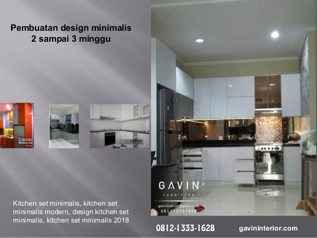 Kitchen Set Anti Rayap Dengan Papan Upvc By Gavin