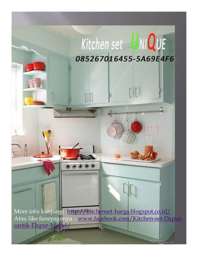 Kitchen Set Dapur Kecil Harga Kitchen Set Kecil Minimalis Kitchen S