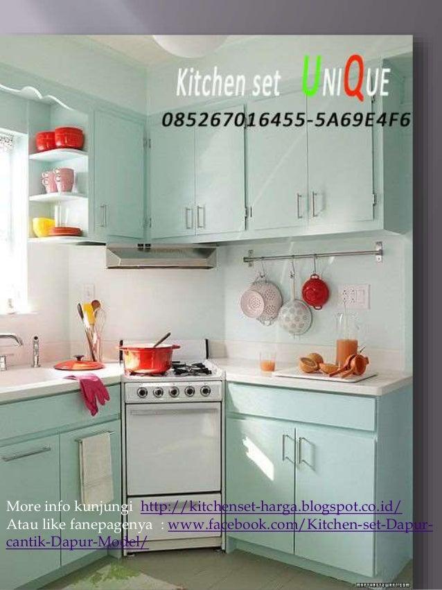 Kitchen set dapur kecil, harga kitchen set kecil minimalis ...