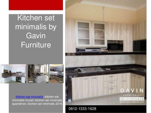 Model Kitchen Set Yang Sesuai Desain Ruangan