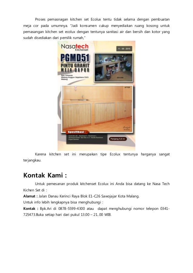 Kitchen set murah kitchen set minimalis murah kitchen for Kitchen set yang sudah jadi