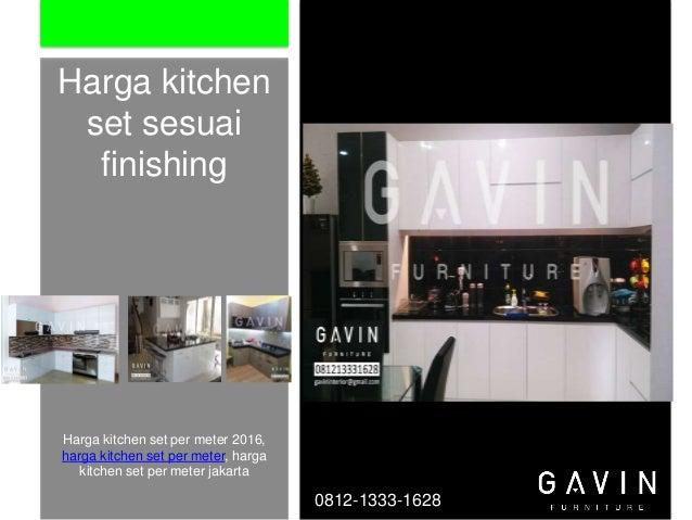 Pembuatan kitchen set di jakarta murah for Harga kitchen set murah