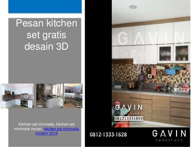 Kitchen Set Murah Jakarta Timur
