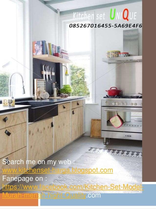Kitchen Set Minimalis Harganya Harga Kitchen Set Jember Kitchen Set