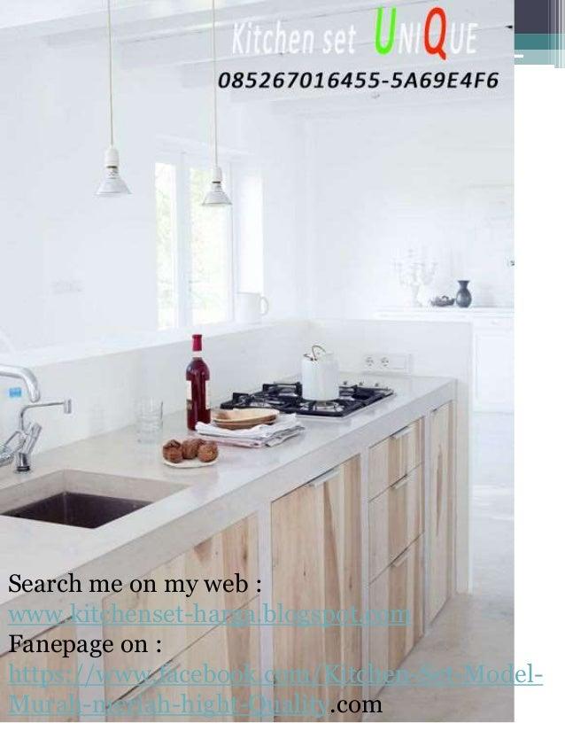 Kitchen set minimalis sidoarjo kitchen set malang murah for Kitchen set jadi murah
