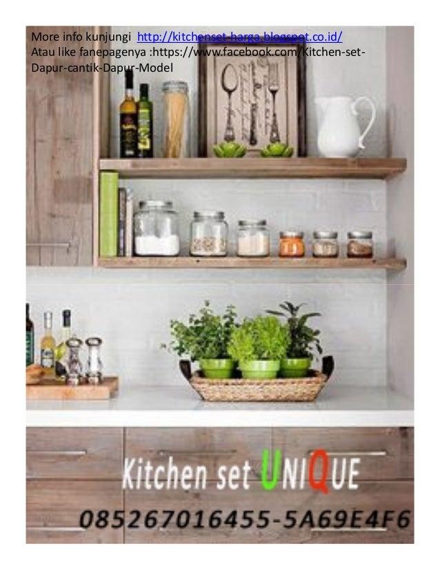 Kitchen Set Minimalis Simple Harga Kitchen Set Kecil Murah Kitchen