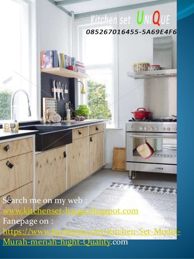 Kitchen Set Minimalis Simple Harga Kitchen Set Kecil Murah Kitchen