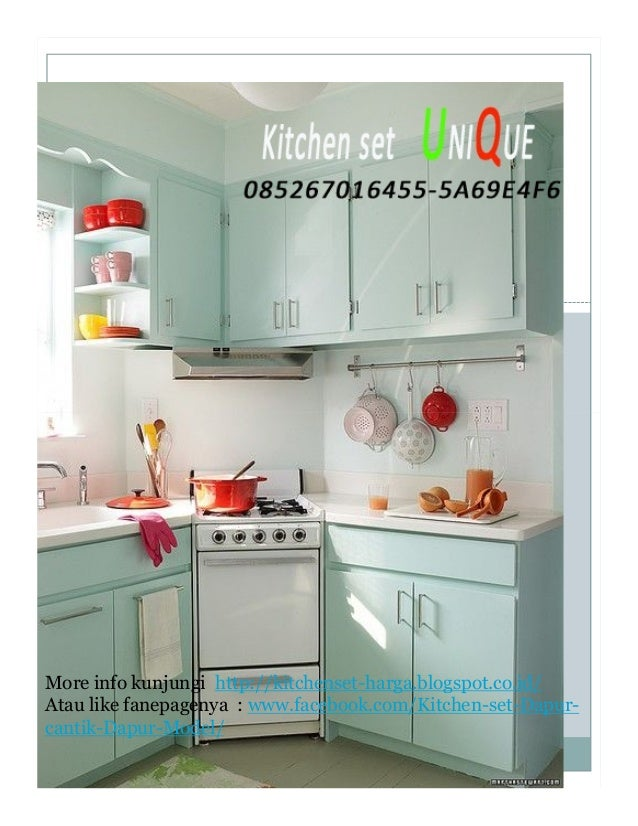Kitchen set minimalis terbaru 2016 daftar harga kitchen for Harga kitchen cabinet 2016