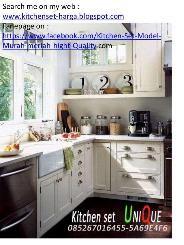 Design Kitchen Set Untuk Dapur Kecil kitchen set minimalis terbaru 2016, daftar harga kitchen set malang, …