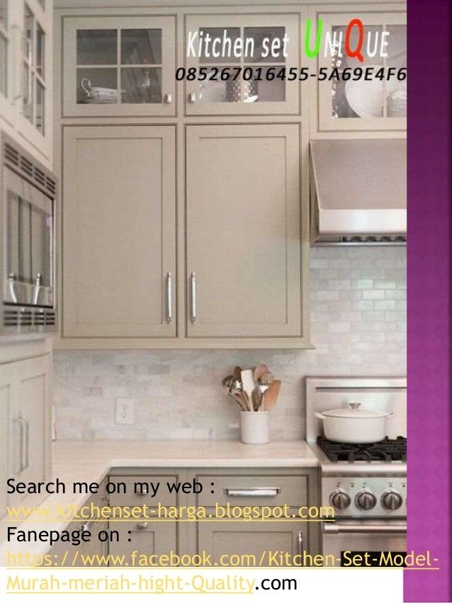 Kitchen Set Untuk Dapur Yang Sempit Harga Kitchen Set Dapur Sederhan